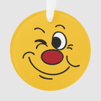 Winking Smiley Face Grumpey