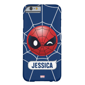 Winking Spider-Man Emoji Barely There iPhone 6 Case