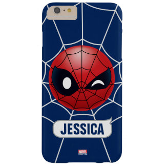 Winking Spider-Man Emoji Barely There iPhone 6 Plus Case