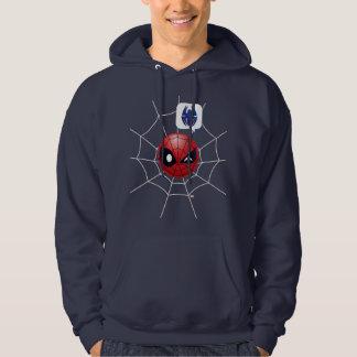 Winking Spider-Man Emoji Hoodie