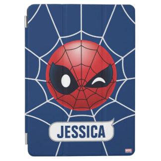 Winking Spider-Man Emoji iPad Air Cover