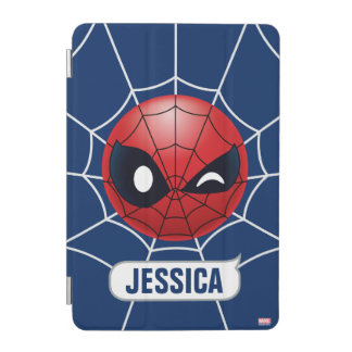 Winking Spider-Man Emoji iPad Mini Cover