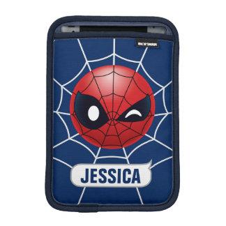 Winking Spider-Man Emoji iPad Mini Sleeve