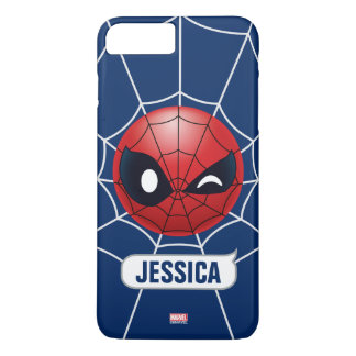 Winking Spider-Man Emoji iPhone 8 Plus/7 Plus Case