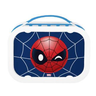 Winking Spider-Man Emoji Lunchbox