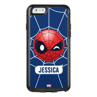 Winking Spider-Man Emoji OtterBox iPhone 6/6s Case