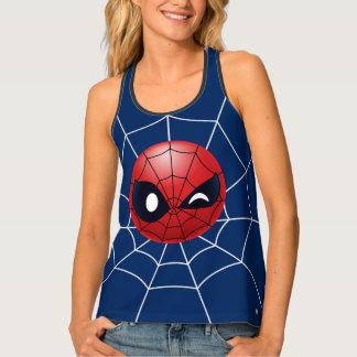 Winking Spider-Man Emoji Singlet
