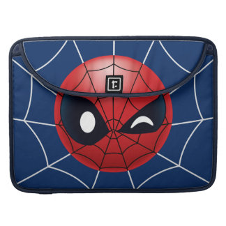 Winking Spider-Man Emoji Sleeve For MacBook Pro