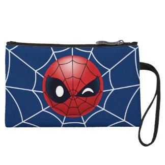 Winking Spider-Man Emoji Wristlet