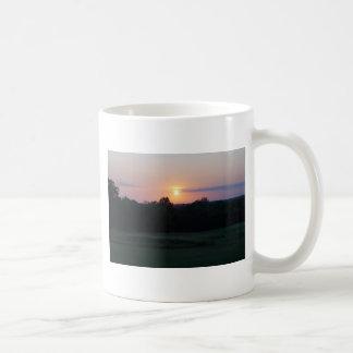 Winnagamie Sunset Basic White Mug