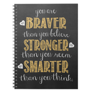 Winne the Pooh Quote Notebook