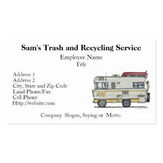 Winnebago Camper RV Apparel Business Card Templates