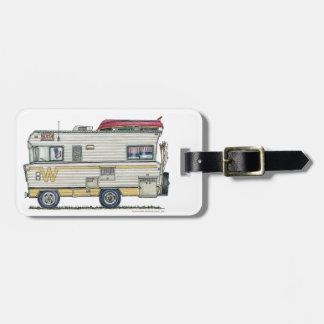 Winnebago Camper RV Apparel Luggage Tag