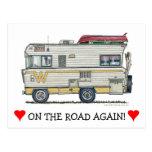 Winnebago Camper RV Apparel Post Card