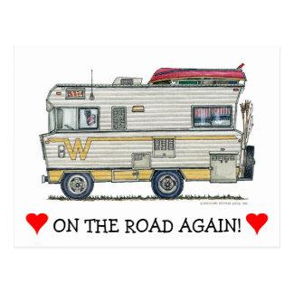 Winnebago Camper RV Apparel Postcard