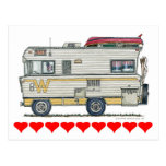 Winnebago Camper RV Apparel Postcards