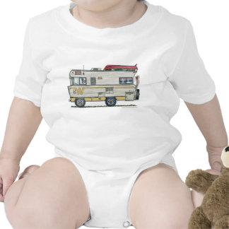 Winnebago Camper RV Apparel Baby Creeper