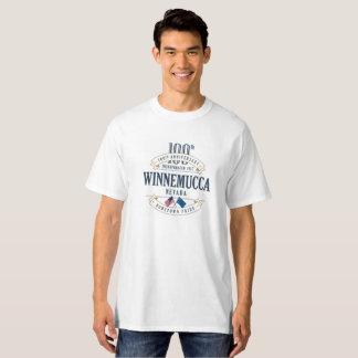 Winnemucca, Nevada 100th Anniversary White T-Shirt