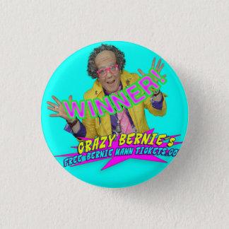 WINNER! Button! 3 Cm Round Badge
