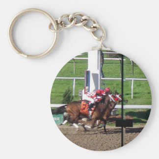 Winner By A Nose Keychain