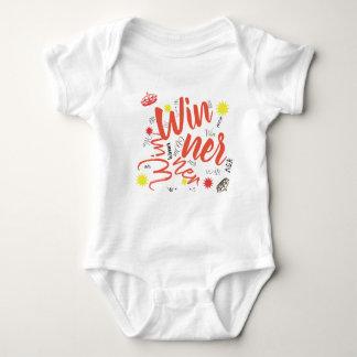 Winner Crown Star Toddler Baby Bodysuit