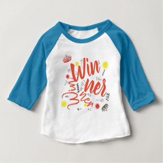 Winner Crown Star Toddler Baby Top 3/4 Shirt