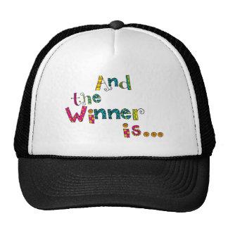 Winner Doodle Hats