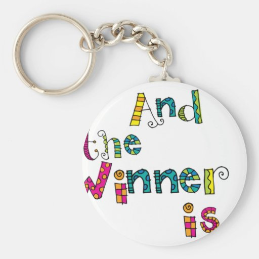 Winner Doodle Keychains