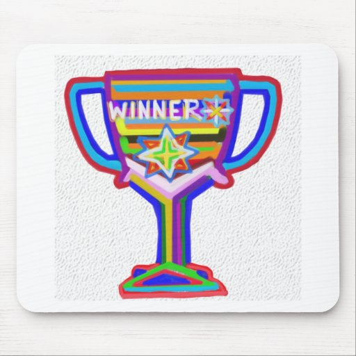 WINNER: Hand crafted Trophy: Encourage Excellence Mousepad