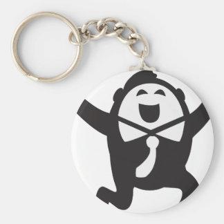 Winner - more winner basic round button key ring