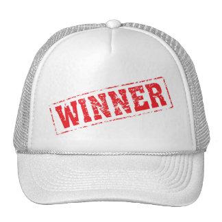 winner red hat