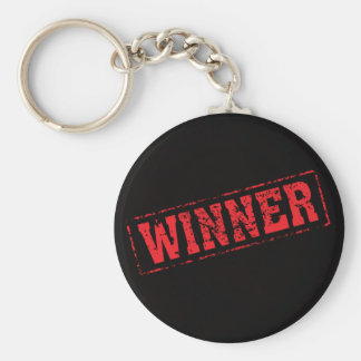winner red key chains