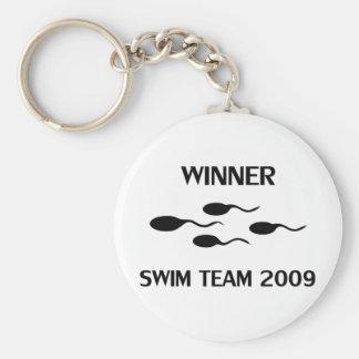 winner swim team 2009 icon keychains