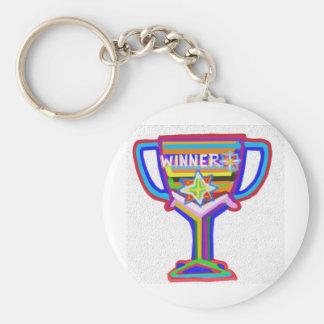 Winner Trophy:  Acrylic Art Keychains
