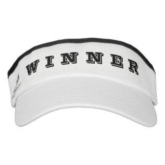 Winner - White Visor