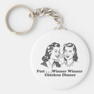 Winner Winner Chicken Dinner Funny Key Chain