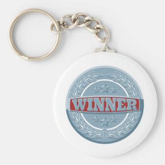 Winners award badge keychain
