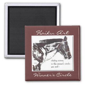Winner's Circle Haiku Art Magnet
