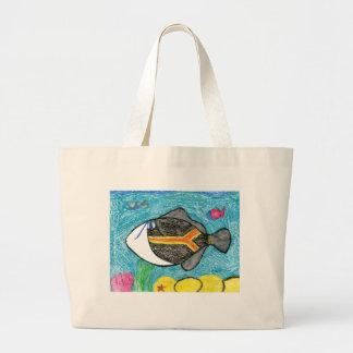 Winning art by  A. Fegers - Grade 4 Canvas Bags