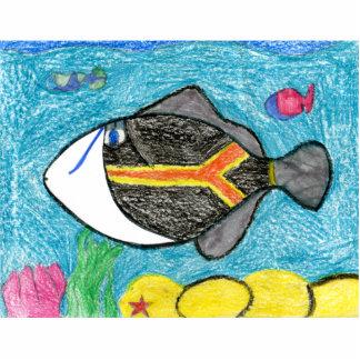 Winning art by  A. Fegers - Grade 4 Photo Cut Outs