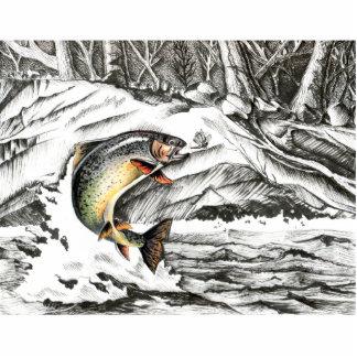Winning art by  A. Malao - Grade 7 Acrylic Cut Outs