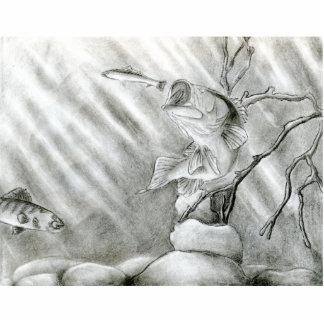 Winning art by  A. Steiger - Grade 10 Photo Cutout