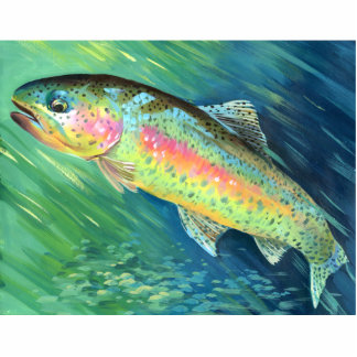Winning art by  B. Pei - Grade 4 Acrylic Cut Out
