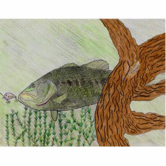 Winning Art By C. Spencer Grade 8 Standing Photo Sculpture