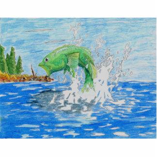 Winning Art By C. Starley Grade 7 Standing Photo Sculpture