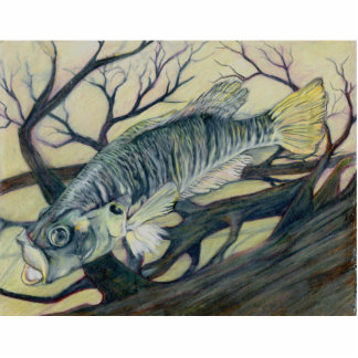 Winning Art By D. Myers Grade 9 Acrylic Cut Outs