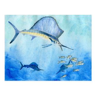 Winning Art by Ethan N. Grade 8 Postcard