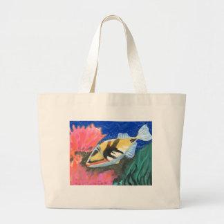 Winning art by  I. Liu - Grade 7 Jumbo Tote Bag
