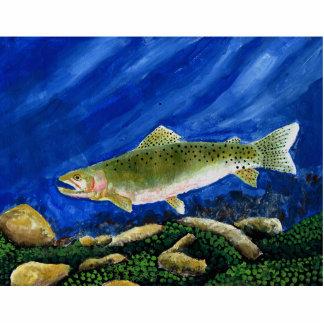 Winning Art By I. Walker Grade 4 Acrylic Cut Out