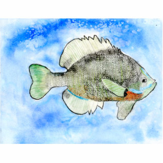 Winning art by  J. Seres - Grade 4 Acrylic Cut Outs